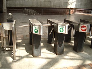Turnstile Mechanism that allows users to pass at a time