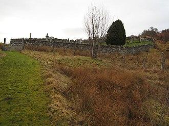 Battle of Tuiteam Tarbhach - Tutim cemetery