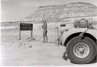 Operation Caravan - Tutira III of T1 Patrol was driven by Captain Nick Wilder during the attack on Barce's airfield.