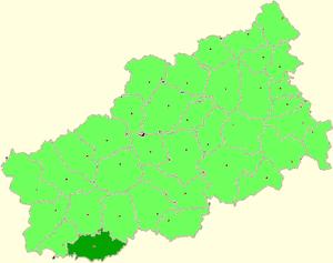 Belsky District, Tver Oblast - Image: Tver oblast Bely