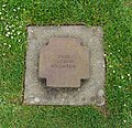 Two german anonymous soldiers grave La Cambe Calvados WWII.jpg