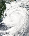 Typhoon Jangmi on September 28, 2008 near landfall in Taiwan.jpg