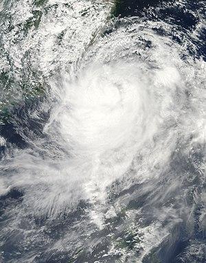Typhoon Morakot - Image: Typhoon Morakot Aug 7 2009