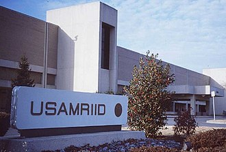 "United States Army Medical Research Institute of Infectious Diseases - The ""Dan Crozier Building"", at USAMRIID, Fort Detrick, Maryland."