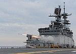 USS Bataan (LHD-5) launches RIM-116 missile in 2013.JPG