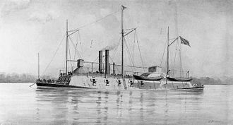 USS Benton (1861) - Image: USS Benton (1861)
