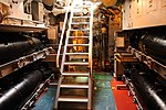 USS Bowfin - Down the Hatch and into the Torpedo Room (6160890534).jpg