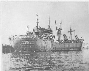 USS Bullock (AK-165) - Image: USS Bullock (AK 165)