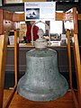 USS Connecticut (BB-18) bell.JPG