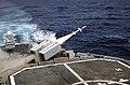 USS Fife fires a Sea Sparrow missile.jpg