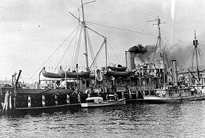 USS Fulton (AS-1) USS Ardent (SP-680)
