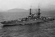 USS New Mexico BB-40 1921