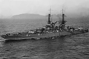 USS New Mexico (BB-40) - Image: USS New Mexico BB 40 1921