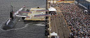 USS North Carolina (SSN-777) - Image: USS North Carolina (SSN 777) commissioning