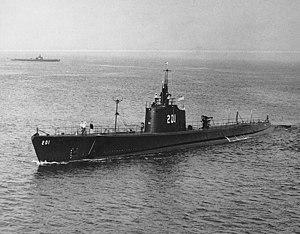 SS-201 Triton, circa 1940