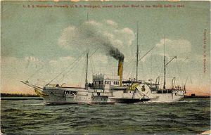 USS Michigan (1843) - USS  Wolverine (IX-31)