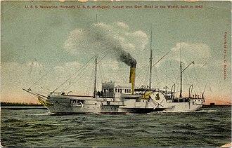 Great Lakes Patrol - Image: USS Wolverine (IX 31)