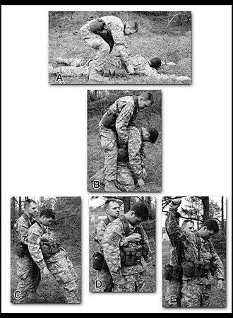 Fireman's carry - Image: US Army FM 3 21.75 3 40A E