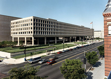 Offices in the James V. Forrestal Building US Dept of Energy Forrestal Building.jpg