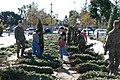 US Navy 061129-N-0888R-131 Marines and their families pick out free Christmas trees at Miramar Marine Corps Air Station.jpg