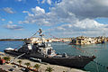 US Navy 090106-N-6544L-158 USS Barry (DDG 52) sits in port during its visit to Valetta to commemorate the 100th anniversary of the.jpg