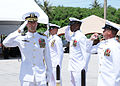 US Navy 100917-N-1906L-007 MSRON 7 holds change of command ceremony.jpg