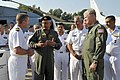 US Navy 100924-N-8273J-101 Chief of Naval Operations (CNO) Adm. Gary Roughead tour various aircraft and facilities at Naval Air Station Paxtuxent R.jpg