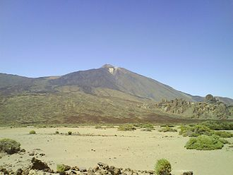 Tourism in Spain - The Teide National Park, on the island of Tenerife is the most visited national park in Spain.