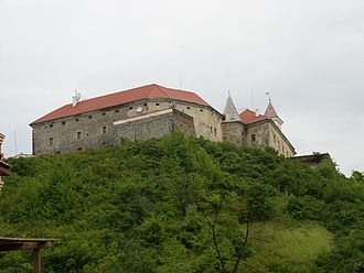 Sigismund Rákóczi - Munkács Castle (now in Mukacheve in Ukraine): Sigismund held it as the guardian of his stepsons by his first wife