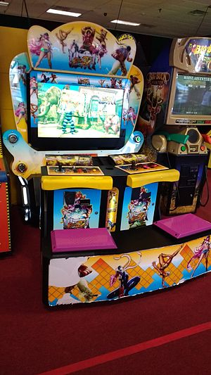Street Fighter IV - Ultra Street Fighter IV arcade cabinet.
