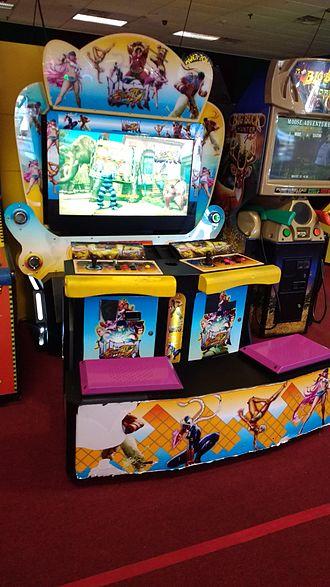 Street Fighter IV - Ultra Street Fighter IV arcade cabinet