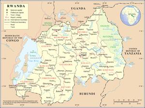 Geography of Rwanda - Image: Un rwanda