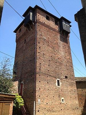 Ambérieux-en-Dombes - The Castle Tower.