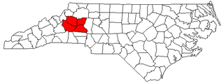 Hickory–Lenoir–Morganton Metropolitan Statistical Area MSA in North Carolina, United States
