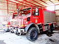 Unimog U4000 fire engine of the Fire sub-station of Apollonia, Pyrosvestiko klimakio Apollonion, pic2.JPG