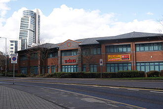 Unisys - Unisys offices in Leeds.