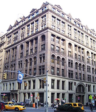 Association for Improving the Condition of the Poor - The United Charities Building, after 1893 the headquarters of the AICP and other charitable organizations; the successor organization, the Community Service Society is still located there
