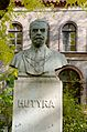 University of Veterinary Science Budapest bust - Ferenc Hutyra 02.jpg