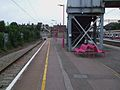 Upminster station platform 1a look west.JPG