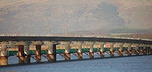 Clackmannanshire Bridge - Image: Upper Forth Crossing