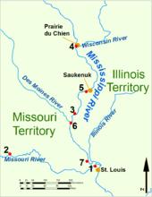 War Of Wikipedia - Us map 1814