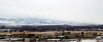 Utah State Prison - Utah State Prison main complex, Draper, Utah.