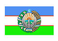 Uzbekistan Flag and Coat of arms.jpg