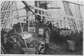 V.M. Doroshevich-Sakhalin. Part I. On Steamship of Voluntary Fleet. Debarkation of Women.png