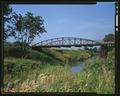 VIEW FROM NORTHEAST - Nishnabotna River Bridge, Spanning Nishnabotna River, Manilla, Crawford County, IA HAER IOWA,24-MAN.V,1-; -9 (CT).tif