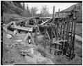 VIEW OF NORTHWEST CORNER OF TIPPLE - Day-Mutual Mine, Burnt Tree Fork, Spring Canyon, Helper, Carbon County, UT HAER UTAH,4-HELP.V,1-3.tif