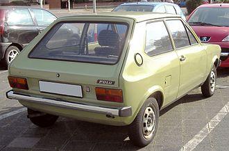 Hatchback - Volkswagen Polo Mk 1 hatchback