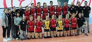 Vakıfbank S.K. - 2016-17 season Bursa Büyükşehir Belediyespor match roster