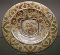 Valencia, piatto lustrato con arabeschi, 1400-1420 ca..JPG