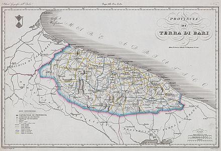 Cartina Puglia Molfetta.Provincia Di Bari Wikipedia
